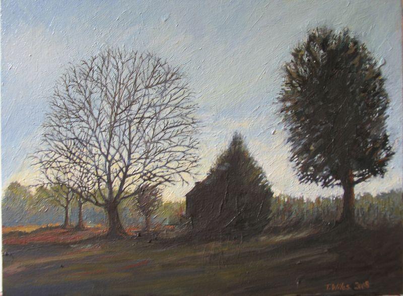Vanishing landscape